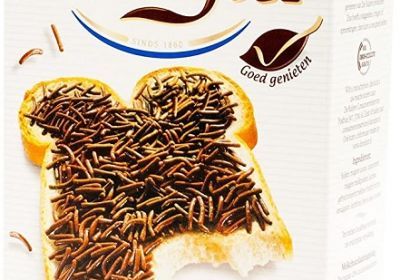 DeRuijter Hail Milk 400g (Chocolate Sprinkles)