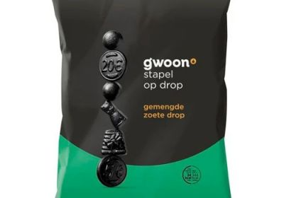 Gwoon Stapel Op Drop (mixed sweet black licorice)